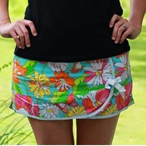 Lilly Pulitzer Paint By Numbers Envelope Skort